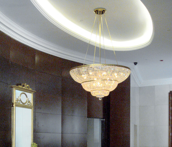 Millenium Hotel - 18955 de J.T. Kalmar GmbH | Lámparas de araña