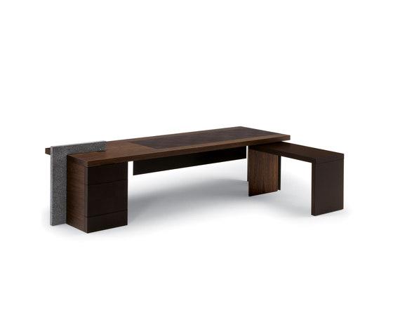 H_O by Poltrona Frau | Executive desks