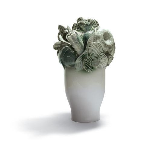 Naturofantastic - Large vase (green) by Lladró | Vases