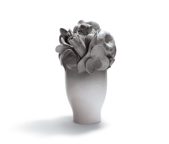 Naturofantastic - Large vase (grey) by Lladró | Vases