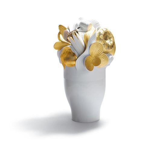 Naturofantastic - Jarrón grande (dorado) de Lladró | Vases