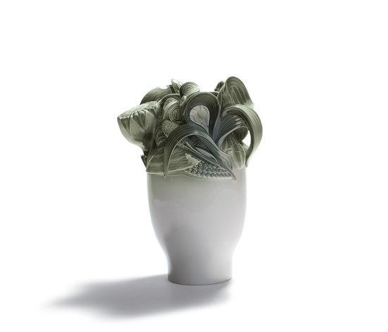 Naturofantastic - Small vase (green) by Lladró | Vases