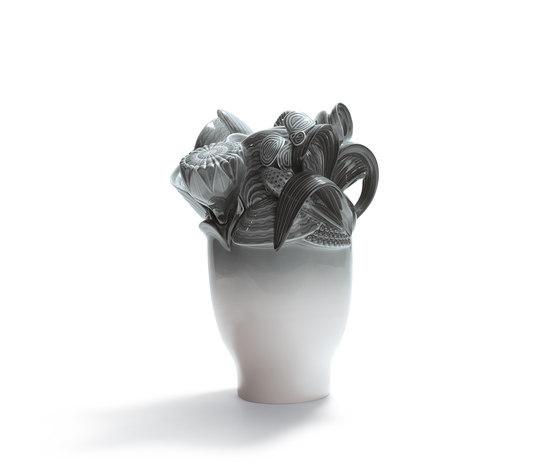 Naturofantastic - Small vase (grey) by Lladró | Vases