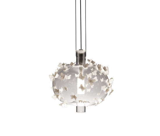 Freeze Frame Butterflies - Hanging lamp by Lladró | General lighting
