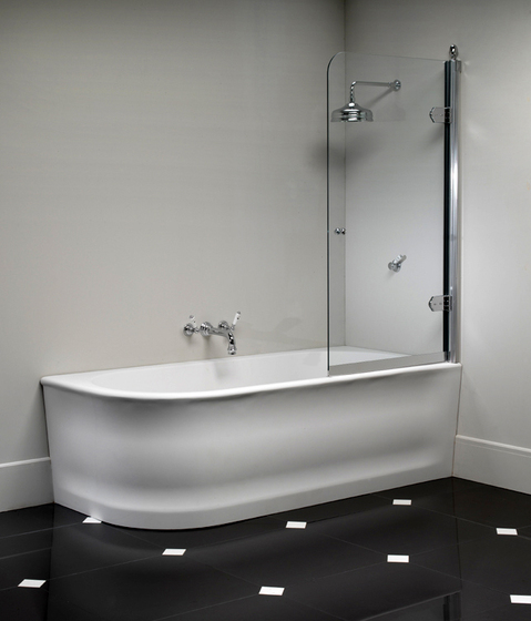 Wave Bathtub by Devon&Devon | Corner baths