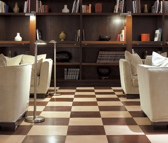 Patina Leather Flooring de Devon&Devon | Baldosas de suelo de cuero natural