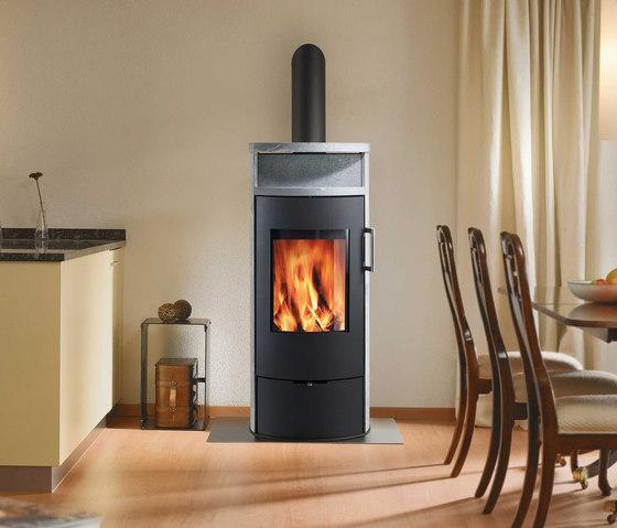 POLEO 128 by Attika Feuer | Wood burning stoves