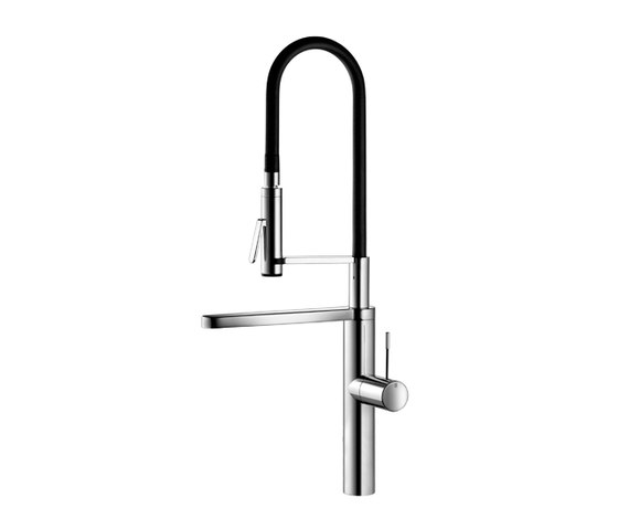 KWC ONO Lever mixer|Swivel spout 360° by KWC | Kitchen taps