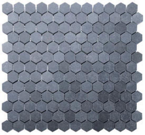 Hexagon lavastone mosaic de Voguebay | Mosaïques