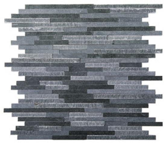 Split Plus lavastone mosaic de Voguebay | Mosaïques