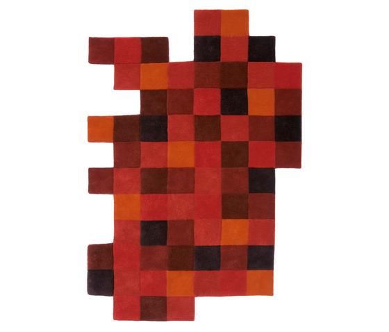 Do-Lo-Rez 1 Rojos de Nanimarquina | Alfombras / Alfombras de diseño