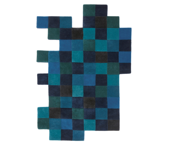 Do-Lo-Rez 1 Blues by Nanimarquina | Rugs / Designer rugs