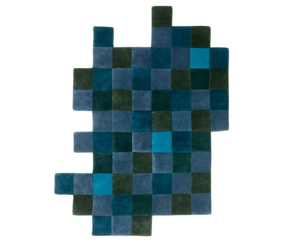 Do-Lo-Rez 2 Blues by Nanimarquina | Rugs / Designer rugs