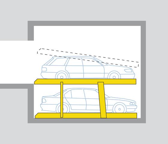 Parklift 402 de Wöhr | Mechanic parking systems