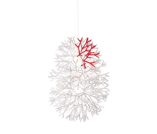 Coral vertical pendant by Pallucco | General lighting