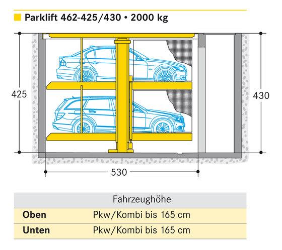 Parklift 462 von Wöhr | Mechanisch