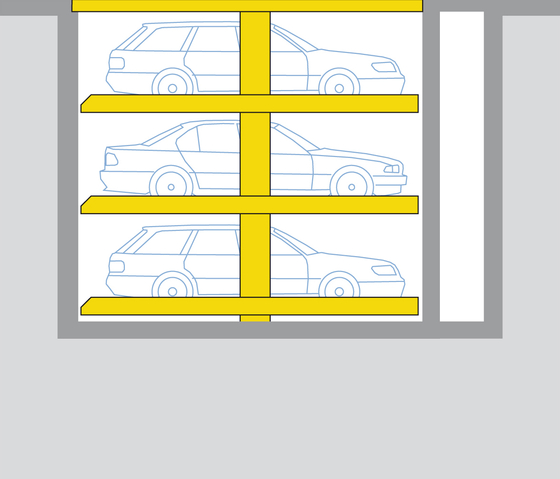 Solution special 463 by Wöhr | Automatic parking systems