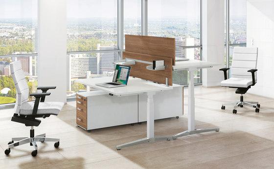 Canvaro Schreibtischsystem von Assmann Büromöbel | Tischsysteme