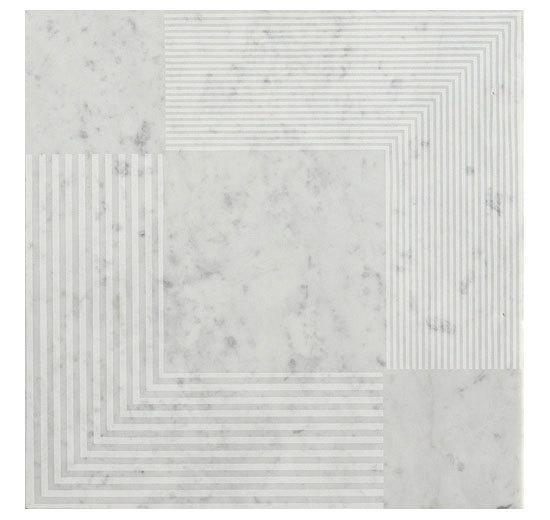 CA 562 DS Bianco Carrara Spazzolato by Q-BO   Floor tiles