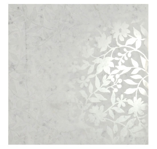 CA 551 FL Bianco Carrara Lucidato de Q-BO | Carrelage de sol