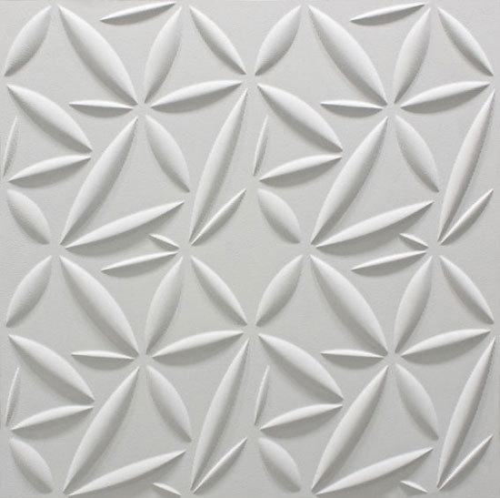 Petali Bianco Fenice 60x60 cm di Lithea | Piastrelle pietra naturale