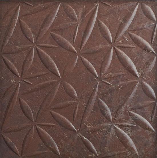 Petali Rosso Ducale 60x60 cm by Lithea | Natural stone tiles