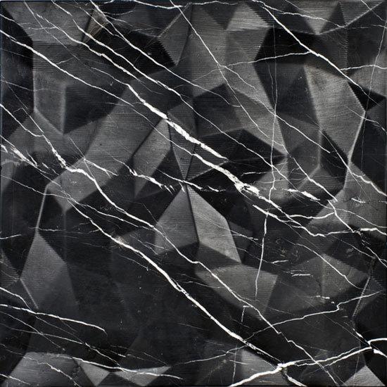 Dune Marmo Nero 60x60 cm di Lithea | Piastrelle pietra naturale