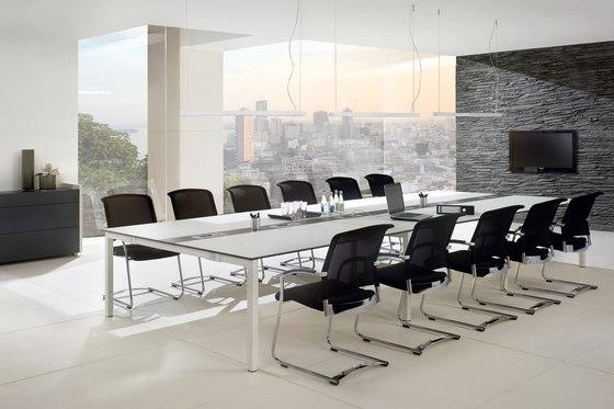 TriASS Furniture range by Assmann Büromöbel | Conference table systems