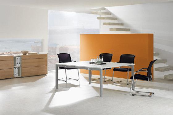 TriASS Furniture range by Assmann Büromöbel | Multipurpose tables