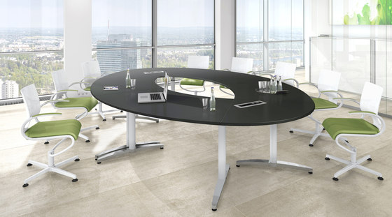Canvaro Meeting by Assmann Büromöbel | Conference tables