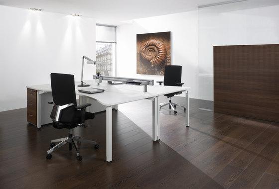 Antaro Desking programme by Assmann Büromöbel | Desking systems
