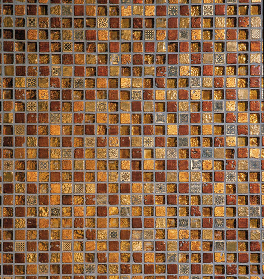 Ambra 2 Mosaic by Petra Antiqua srl | Glass mosaics