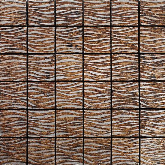 Twist Silver 800 Mosaic de Petra Antiqua srl | Mosaïques