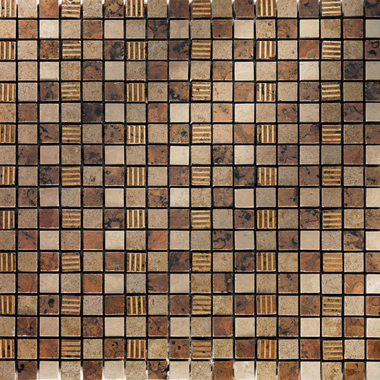 Asolo 3 Mosaik von Petra Antiqua srl | Naturstein-Mosaike