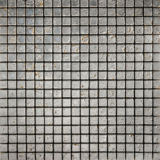 Full Silver 10 Mosaic by Petra Antiqua srl | Natural stone mosaics