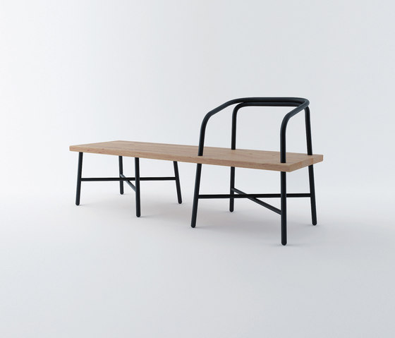 Table, Bench, Chair von Established&Sons | Wartebänke