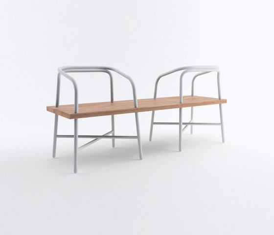 Table bench chair by established sons table bench for 108 table seats how many