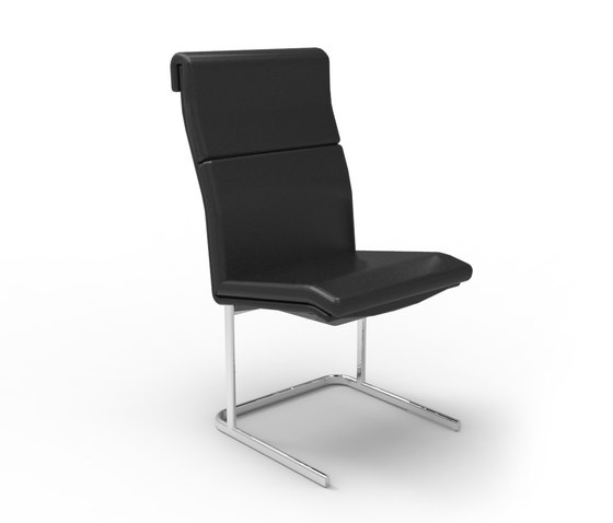 Delphi High Back, non arm Visitor Chair by Boss Design | Chairs