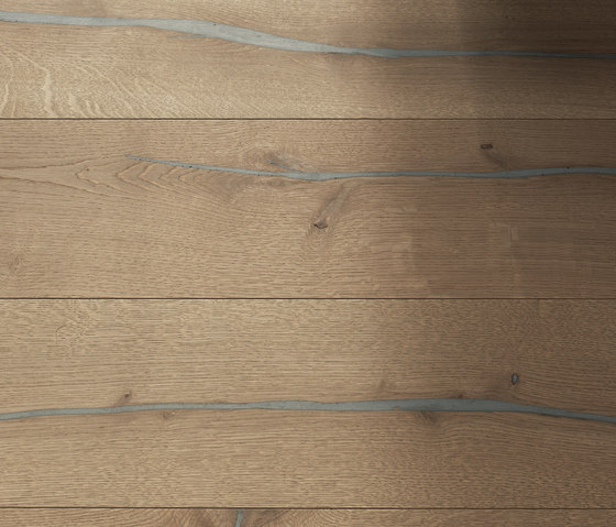 Coral OAK silver brushed | grey oil by mafi | Wood flooring