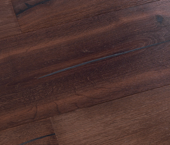 Coral OAK Vulcano black brushed | natural oil by mafi | Wood flooring