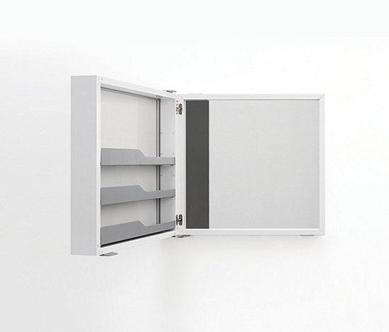 Mini Box Wall cabinet by Kristalia | Mirror cabinets