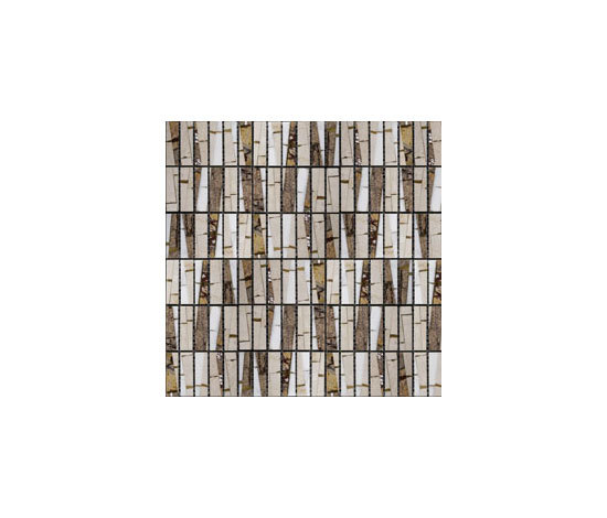 Bamboo Forest Brown by MegaTiles Limited | Natural stone mosaics