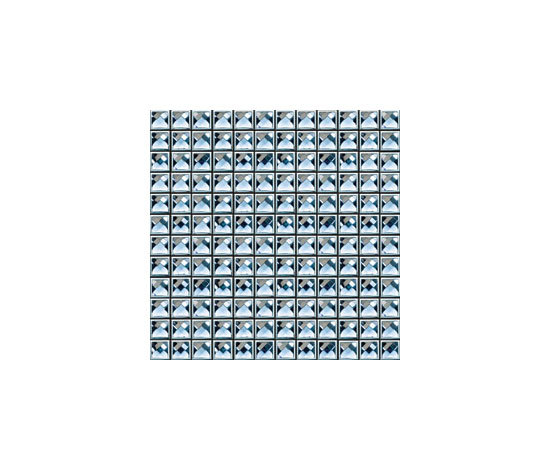 Diamond Crystal Framed DC_04F by MegaTiles Limited | Glass mosaics