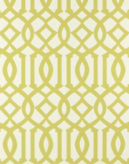Imperial Trellis Citrine wallcovering by F. Schumacher & Co. | Wall coverings / wallpapers