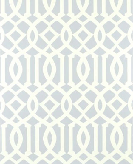 Imperial Trellis Soft Aqua wallcovering by F. Schumacher & Co. | Wall coverings / wallpapers