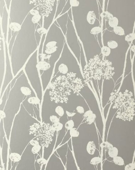 Moonpennies Silver wallcovering by F. Schumacher & Co. | Wall coverings / wallpapers