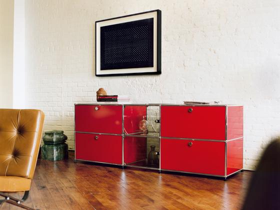 usm haller sideboard sideboards kommoden von usm architonic. Black Bedroom Furniture Sets. Home Design Ideas