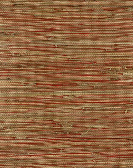 Bamba Rushcloth Lacquer wallcovering von F. Schumacher & Co. | Wandbeläge / Tapeten