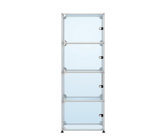 USM Haller Glass showcase 1 by USM | Display stands
