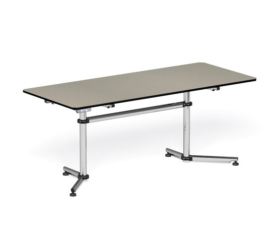 USM Kitos Linoleum by USM | Modular conference table elements